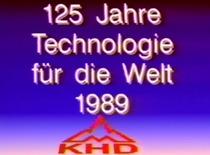 125 Jahre Technologie für die Welt 1989