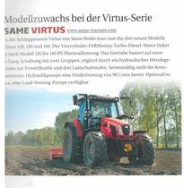 Modellzuwachs bei der Virtus-Serie: Same Virtus