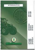 XT 908-909-910.4-910.6-911-913-115-130 - Bedienung und Wartung