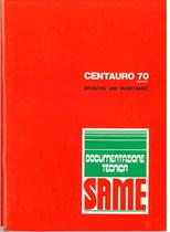 CENTAURO 70 EXPORT - Operating and maintenance