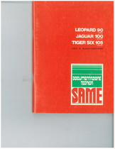 LEOPARD 90 T - JAGUAR 100 EXPORT - TIGER SIX 105 EXPORT - Libretto uso & manutenzione