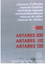 ANTARES 100 - 110 - 130 - Manual de oficina