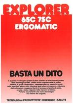 EXPLORER 65 C - 75 C ERGOMATIC