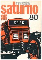SATURNO 80 - Libretto uso & manutenzione