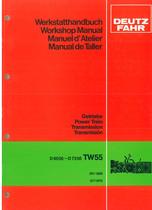 D6006-D7206-Getriebe TW55 - Werkstatthandbuch / Workshop Manual / Manuel d'Atelier / Manual de taller