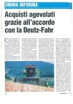 Acquisti agevolati grazie all'accordo Deutz-Fahr