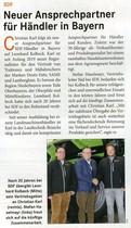SDF Neuer Ansprechpartner für Händler in Bayern