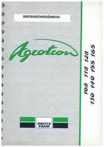 AGROTRON 108-118-128-130-140-155-165 - Instrukionshanbog