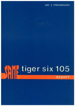 TIGER SIX 105 EXPORT - Uso y manutencion