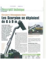 Les Scorpion se déploient de 6 à 9 m