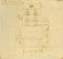 Motore MID 1152. Assieme - Vista lato iniezione motore - Disegno 174