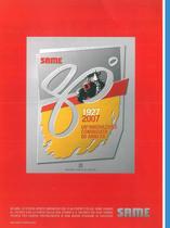 Same 80° 1927 - 2007 un'innovazione cominciata 80 anni fa