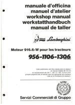 956-1106-1306 TURBO - Manuel d'atelier