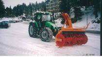 Trattore modello AGROTRON 115 MK 3 nella Stazione Invernale di Carì 2000 SA