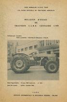 Bulletin d'essais de tracteur SAME Centauro 4RM