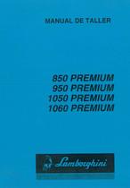 PREMIUM 850 - 950 - 1050 - 1060 - Manual de Taller