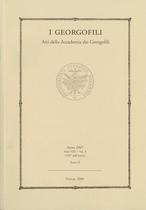 Atti dell'Accademia dei Georgofili, Firenze, Società editrice fiorentina, 2007