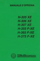 H 305 XE - H 306 XE - H 307 XE - H 355 F-XE - H 365 F-XE - H 375 F-XE - Manuale di officina