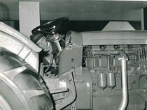 66ª Fiera Internazionale dell'Agricoltura Verona, 8-16/3/1964 - Particolare di un trattore SAME