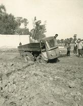 Trattore SAMECAR Agricolo al lavoro in Iran