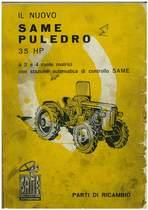 PULEDRO 35 HP - Catalogo Parti di Ricambio