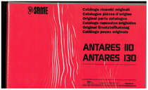 ANTARES 110-130 - Catalogo Parti di Ricambio / Catalogue de pièces de rechange / Spare parts catalogue / Ersatzteilliste / Lista de repuestos / Catálogo peças originais