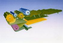 [Deutz-Fahr] battitore, controbattitore e crivelli della mietitrebbia TopLiner 8 XL