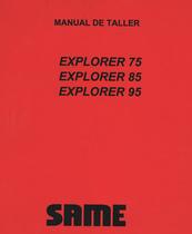 EXPLORER 75 - EXPLORER 85 - EXPLORER 95 - Manual de taller