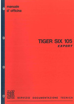 TIGER SIX 105 EXPORT - Manuale d'officina